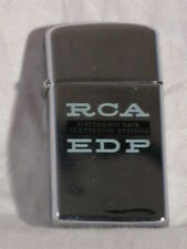 RCA EDP Electronic Data Processing Systems Zippo Lighter
