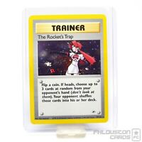 Excellent The Rocket's Trap - 19/132 - Gym Heroes - Holo - Pokemon Card