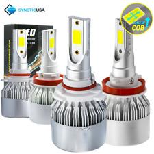 9005+H11 CREE LED Headlight Kit 3000W 450000lm Light Bulbs High & Low Beam Combo