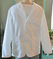 "Medline Consultant L/S Lab Coat 3 Pocket 29"" Length White Sizes Xl to 3X"
