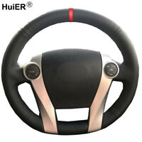 Hand Sewing Car Steering Wheel Cover For Toyota Prius 30(XW30) 2009-2015 C(US)