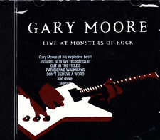 GARY MOORE live at monsters of rocks CD NEU OVP/Sealed