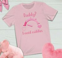 BDSM Sex Themed Submissive gift Crop Top Daddy's baby Princess DDLG Shirt