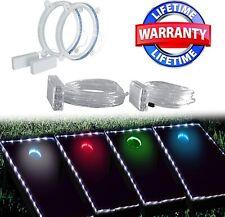 AweFun Cornhole Lights for Hole and Board - LED Lighting Kit -  Multiple Colors