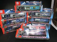 19 NFL Football Fan Truck Posten für Sammler,Wiederverkäufer,Colts Falcons Bills