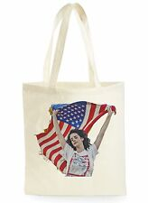 Lana DEL REY AMERICAN FLAG Cool Shopping Tela Tote Bag Ideale Regalo