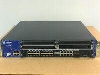 Juniper SRX650 Services Gateway SRX-GP-24GE 2x AC PSU Rack Ears Router Firewall