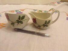 Midwinter Fashion Rose milk jug and sugar bowl