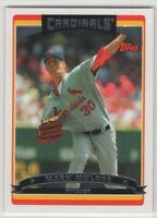 2006 Topps Baseball Saint Louis Cardinals Team Set Series 1 2 and Update