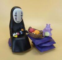 lot Spirited Away No Face Kaonashi Ghibli  PVC Statue Model mini Figure Set Toy