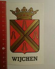 Aufkleber/Sticker: Wijchen (14091658)
