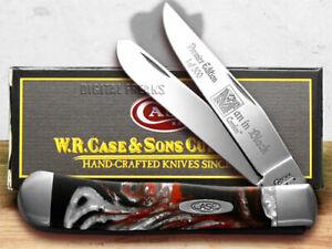 Case xx Trapper Knife Man In Black Genuine Corelon 1/500 Pocket 9254MB
