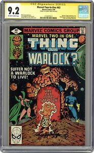 Marvel Two-in-One #63 CGC 9.2 SS 1980 2122075013