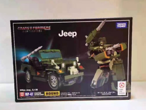 New edition. Transformers MP-47 Master Inspector Jeep Wrangler Box Toy