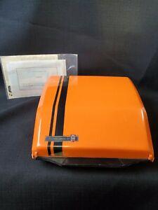 Orange Smith Corona Super G Typewriter / Portable -1970s - Karmann Ghia VINTAGE