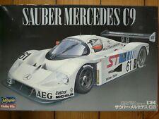 Maquette voiture 1/24 Hasegawa Sauber Mercedes C9 Ref CC-12