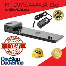 HP D9Y32AA#ABA 2013 D9Y32UT UltraSlim Docking Station with 65W Adapter