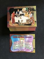 1994 SABAN POWER RANGERS SERIES TWO COMPLETE RARE POWER FOIL (72) CARD SET