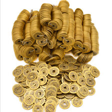 100Pcs Feng Shui Coins Ancient Chinese I Ching Coins For Health Wealth Charm Na