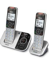 🔥VTECH VS112-2 DECT 6.0 Bluetooth 2 Handset (Silver & Black) Open Box🔥