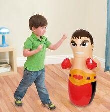 Para niños niños 90cm Inflable 3d Boxer Boxeo Golpe Bop Bag Juguete ty7062