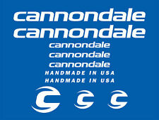 'CANNONDALE' Bikes Sticker/Decal Set - NEW - Any Colour
