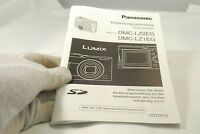 Panasonic Digital Camera manual DMC-LZ2EF DMC-LZ1EF Bedienungsanleitung German