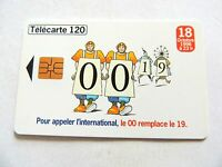 "Vintage 1996 ""Telecarte 120"" France Telecom Phone Card.."