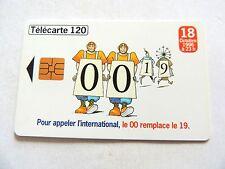 "Vintage 1996 ""Telecarte 120"" France Telecom Phone Card.."