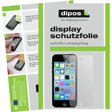 Apple iPhone 5S / SE Schutzfolie matt Displayschutzfolie Folie dipos