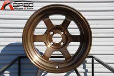 15x9 Rota GRID V 4x114.3 -15 Full Royal Sport Bronze Wheel (1)