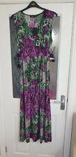 New peacock design maxi dress from Klass size 20