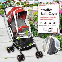 Baby Stroller Rain Cover Wind Universal Rain Canopy Raincoat for Pram   us