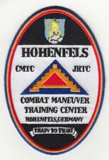 """Hohenfels Training Center Germany 4"""" embroidered oval patch"""