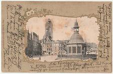 Wismar, Markt, Karte gel. 10.11.04, Karte gebräunt