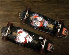 """Punked Ace Of Spades 27"""" Two (2) SkateBoard Lot with Speed Cruiser Wheels 62mm"""