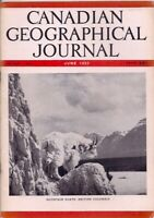 Canadian geographical journal-JUNE 1952-MOUNTAIN GOATS,BRITISH COLUMBIA.