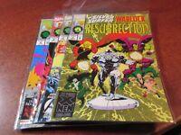 Silver Surfer Warlock Resurrection #1 2 3 4 Marvel 1993 Mini Series Comic Set