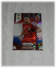 2014 Panini Prizm World Cup Red Blue Plaid Xabi Alonso - Spain #173