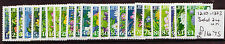 JERSEY 2005 FLOWER DEFINITIVES  SET OF 24 UNMOUNTED MINT, MNH