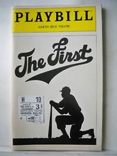 The First Playbill Jackie Robinson Musical Flop David Alan Grier Nyc 1981