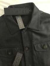 Replay Leather jacket    M8712 .000.82246   Size Large NEW WITH TAGS