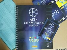 1x Panini Trading Cards Champions League 06/07 Volles Album Mint / NM + Booster
