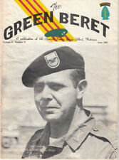 Wartime Green Beret Magazine, June 1967 Special Forces