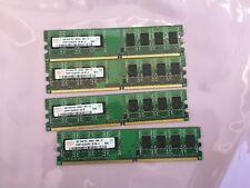 4GB (4 x 1GB) desktop RAM 1RX8 PC2-6400 ,Non-ECC,works for Intel & AMD,US seller