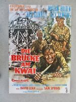 William Holden Die Brücke am Kwai  1WA A1 Filmposter