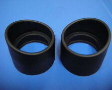 2PCS Eye Guards Stero Mikroskopokular Augenmuscheln 32-35mm Rubber Augenmuscheln