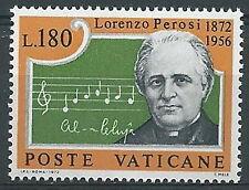 1972 VATICANO MAESTRO LORENZO PEROSI MNH ** - ED