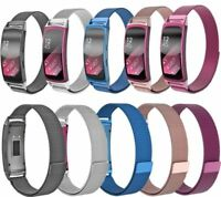 Milanese Loop Stainless Watch Band Strap For Samsung Gear Fit2 PRO R365 L size
