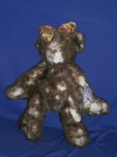Vintage Annette Funicello Bear Brown & White 14in c1990s